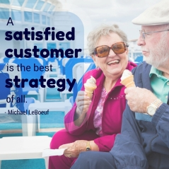Customer satisfaction is the best strategy
