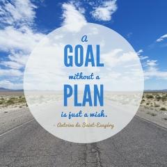 Plan your goals